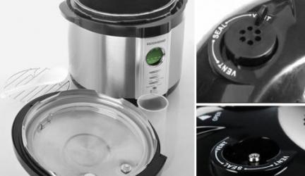 Как очистить съемный паровой клапан?